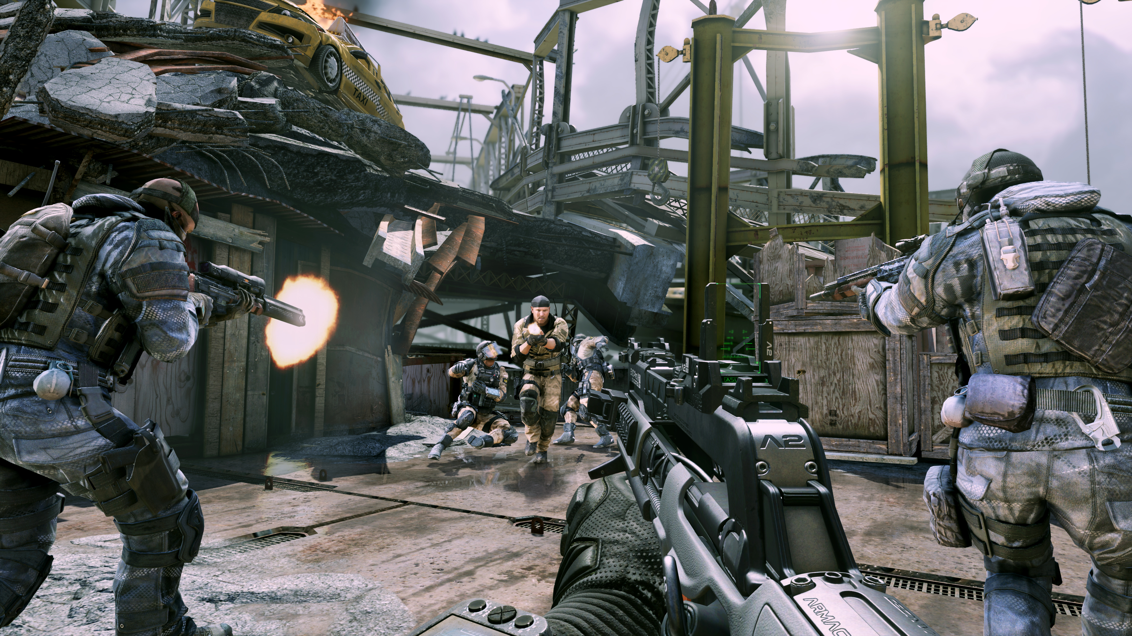 Call of Duty: Ghosts Devastation pack detailed- complete ... Cod Ghost Devastation Ripper