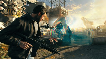 Stop time with Shawn Ashmore in Quantum Break.