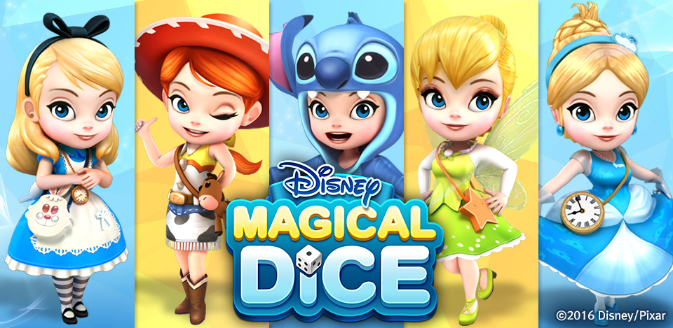 Disney Magical Dice_1