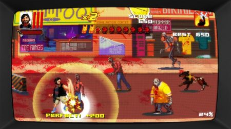 The main character literally punches zombies to their second death.