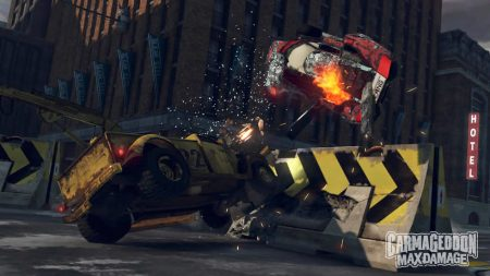 Be the cause of destruction and carnage in Carmageddon: Max Damage