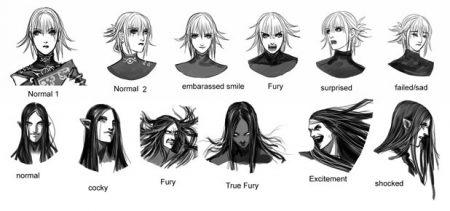 anima gate of memories characters