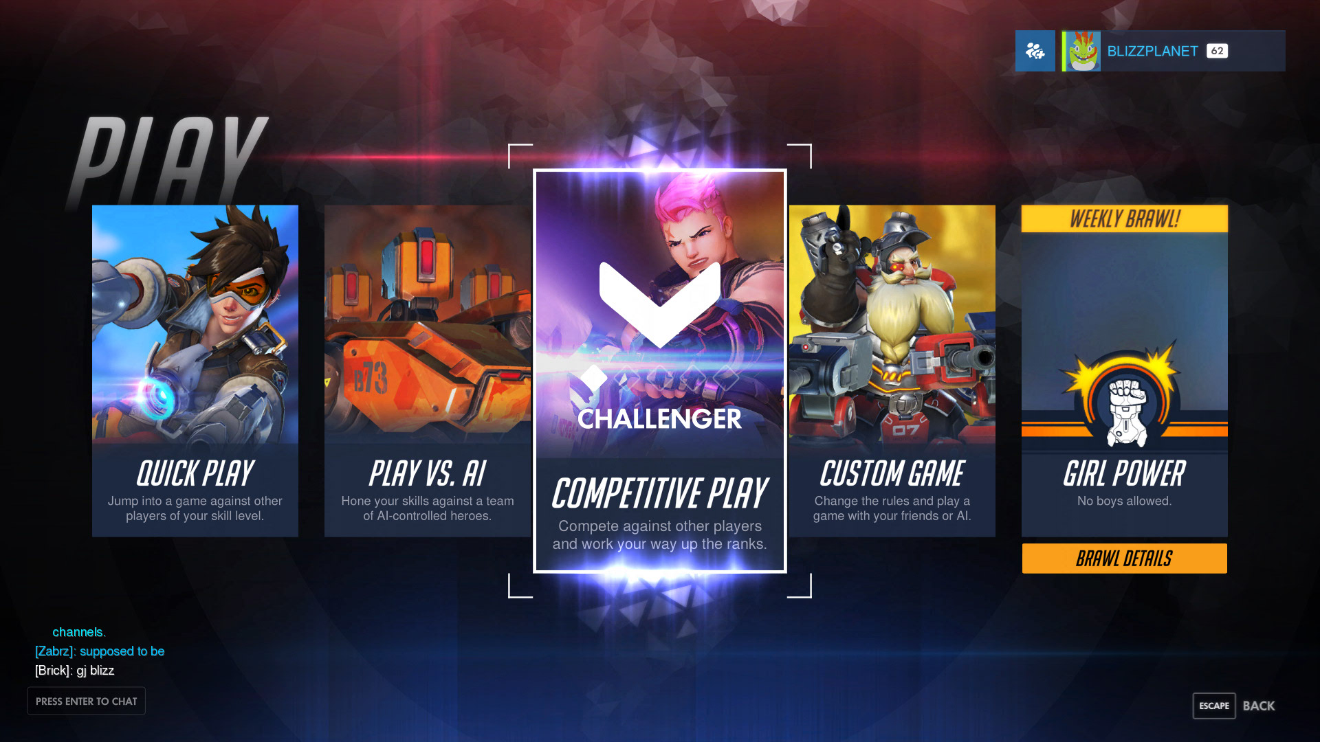 Overwatch Gets Competitive!