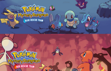 Pokemon Mystery Dungeon Rescue Team Red/Blue