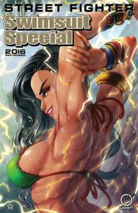 Street Fighter Swimsuit special cover