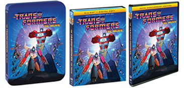 Transformeres the movie boxed