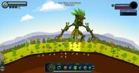 The tree monster can create life in Reus from Abbey Games.