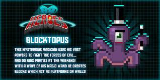 88 Heroes Dr. Blocktopus