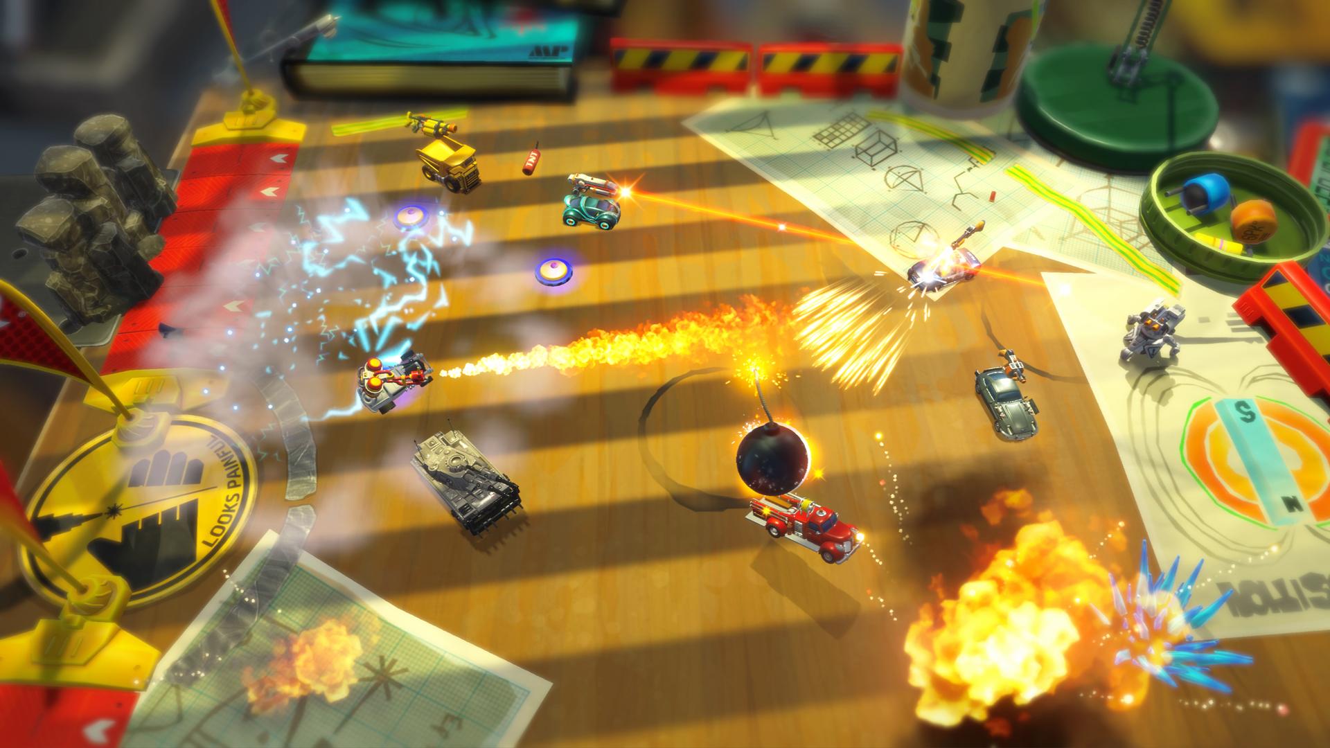 Micro Machines World Series Bombs away! | Brutal Gamer