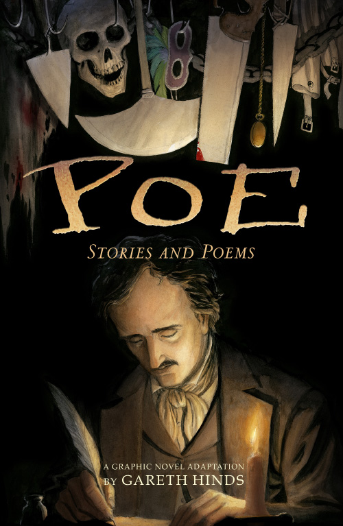 poe stories and poems  graphic novel  review