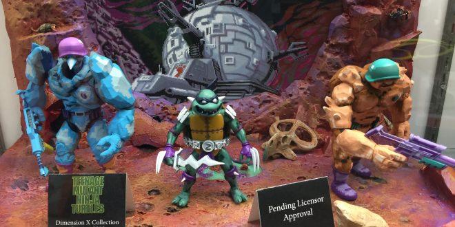SDCC 2017: Stunning NECA unveils included new TMNT, Alien vs Predator arcade game