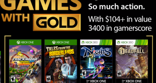Games with Gold November