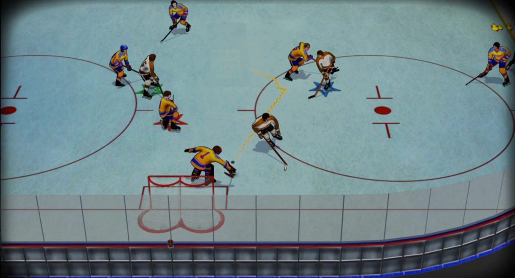 Bush League Hockey Gameplay