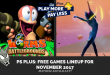 PS Plus: Free Games Lineup for November 2017