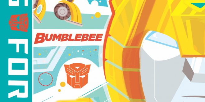 Bumblebee graphic novel coming this year from IDW