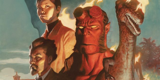 Hellboy and the B.P.R.D.:1955–Burning Season (Comic) Review