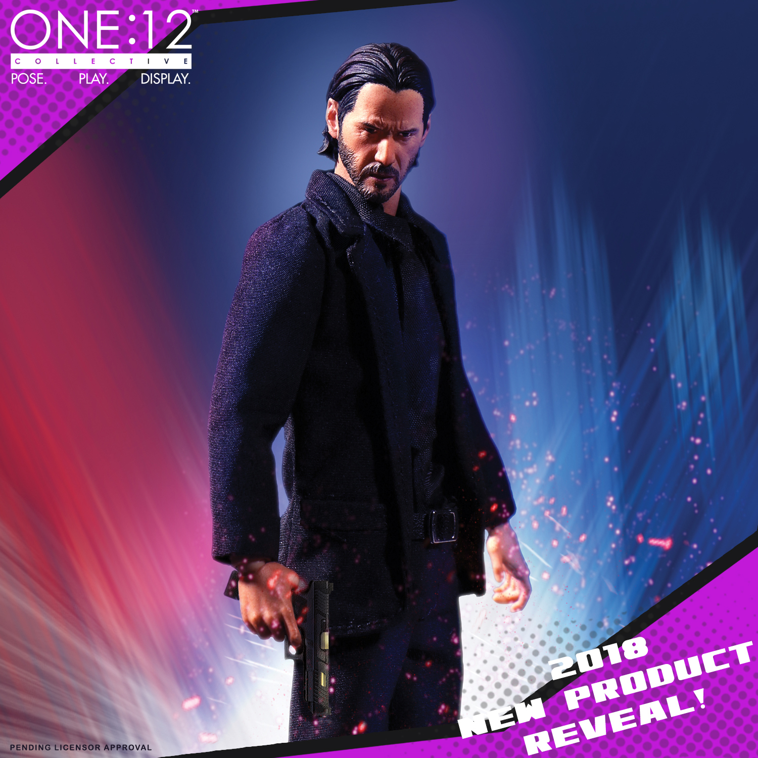 Toy Fair 2018 Mezco Reveals John Wick One 12 Collective