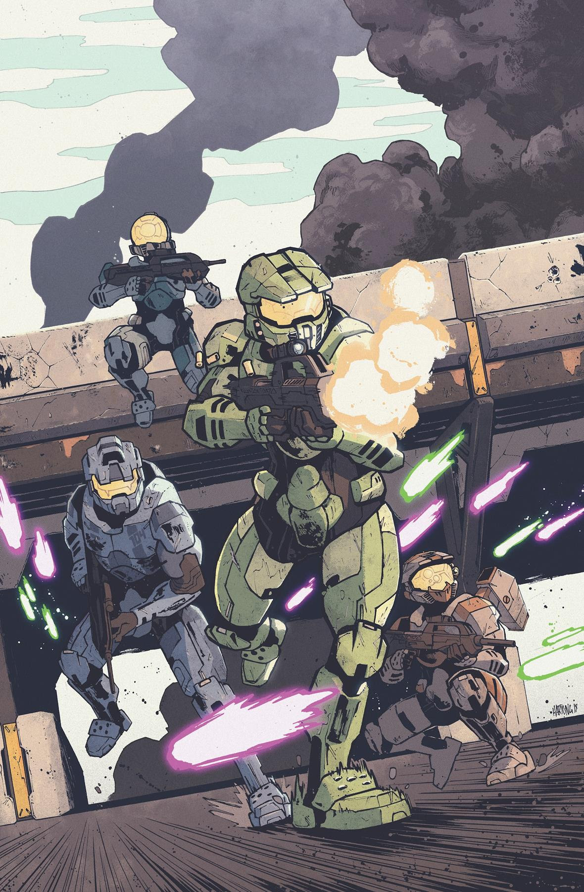fresh halo miniseries on the way from dark horse comics and 343 industries