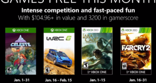 January 2019 Games with Gold