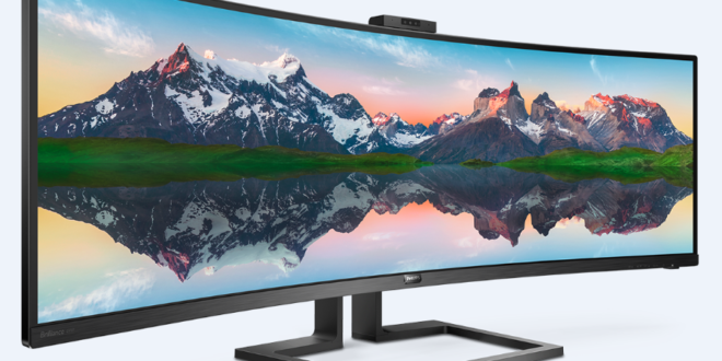 Philips debuts 49″ curved monitor at CES