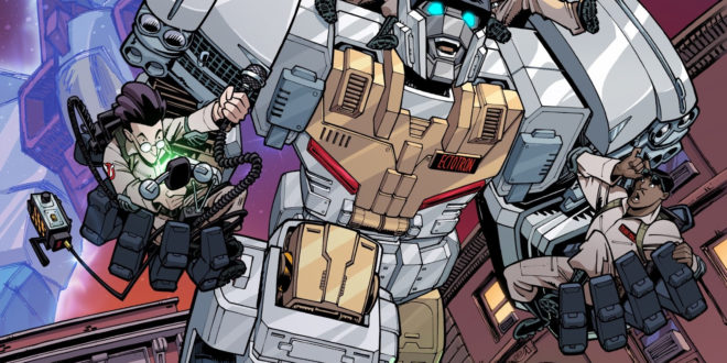 Transformers/Ghostbusters kicks off in June from IDW