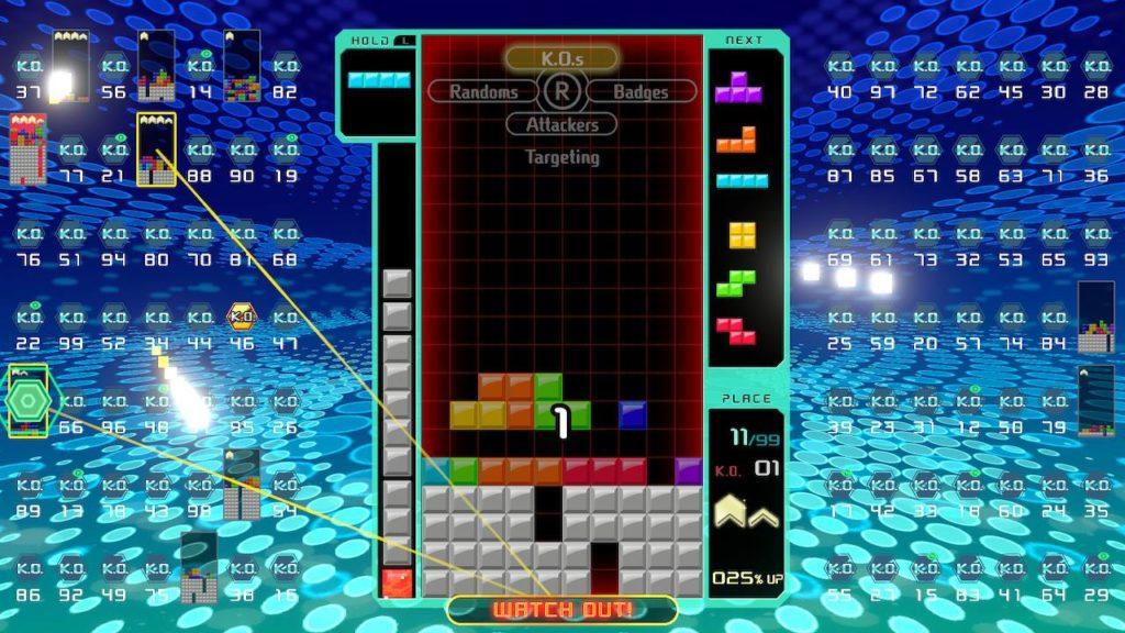 Tetris 99 with friends