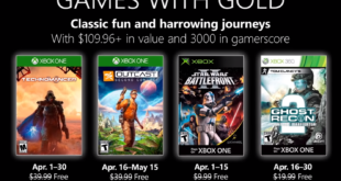 April 2019 Games with Gold