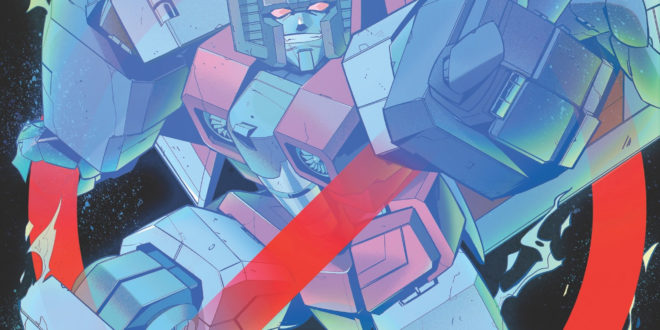 IDW reveals more Transformers/Ghostbusters art and an interview