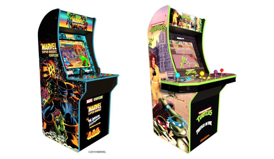E3 2019: Arcade1up announces TMNT and Marvel themed cabs