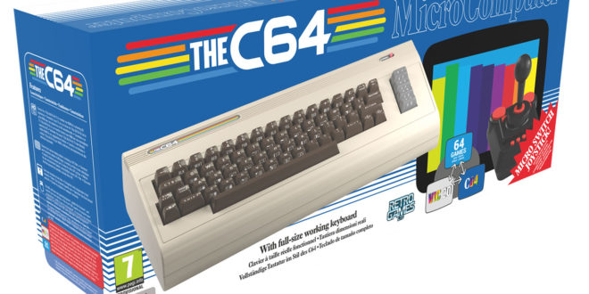 Commodore 64 returning as C64 this Holiday Season