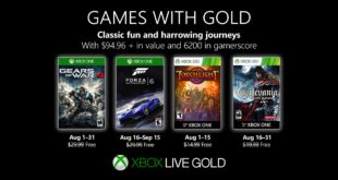 August Games with Gold 2019
