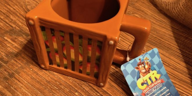 Numskull Crash Team Racing mug (Gear) Review
