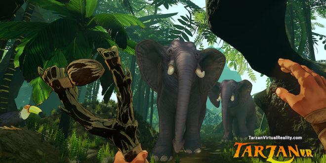 Tarzan swinging onto VR platforms