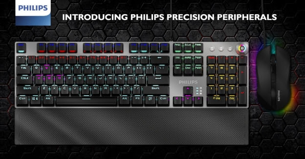 Philips debuts new line of PC gaming peripherals