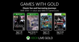 September Games with Gold 2019
