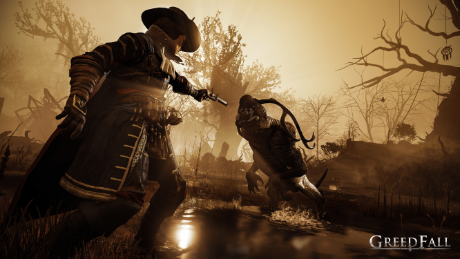 Greedfall_Fighting_Monsters