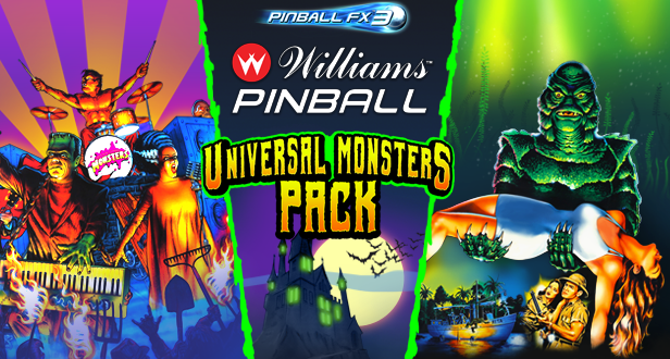 'Tis the season for some Universal Monsters pinball