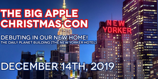 Big Apple Christmas Con coming up next month