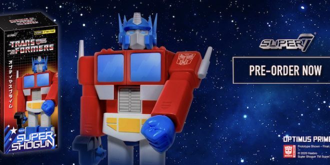 FAO teams up with Super7 for 'Super Shogun' Optimus Prime