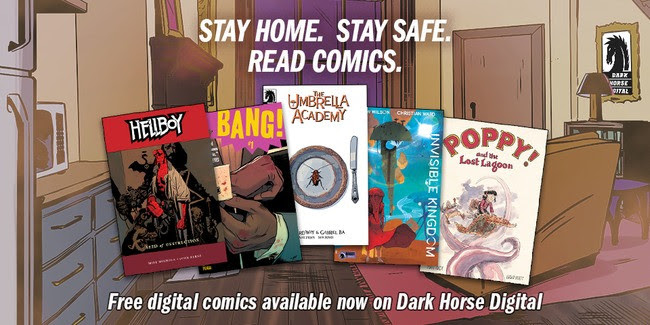 Dark Horse releases a bunch of free books to keep you busy