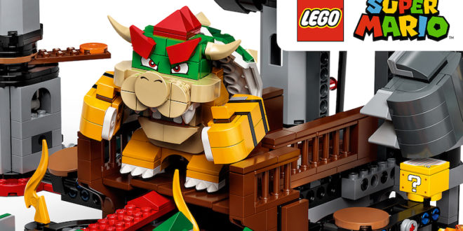 Release date, expansions, and pre-orders announced for LEGO Super Mario