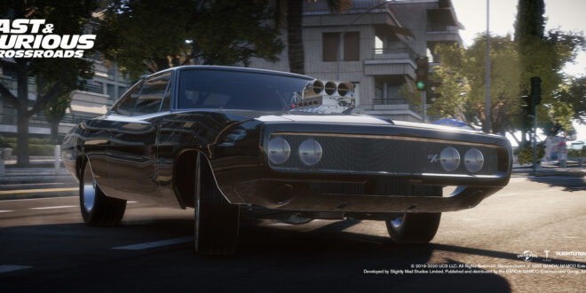Here's the first footage of Bandai Namco's Fast & Furious Crossroads