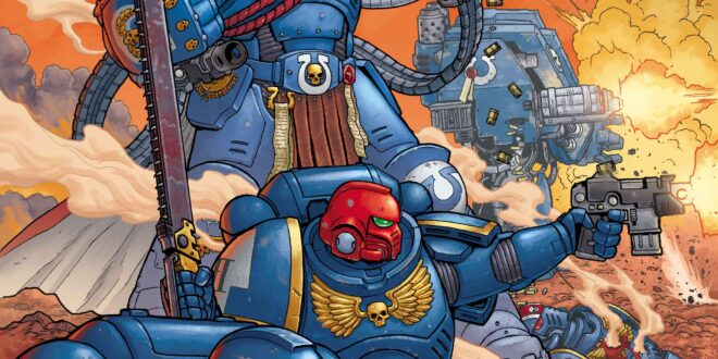 Marvel kicks off Warhammer 40K book with motion trailer