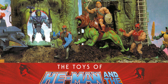 The Toys of Masters of the Universe book on the way