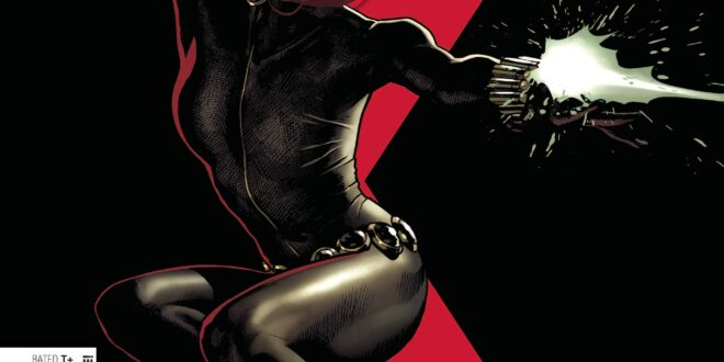Black Widow is back in another new #1 from Marvel