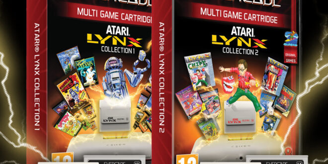 Atari Lynx carts go up for pre-order on Evercade