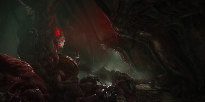 Check out 14 minutes of Scorn gameplay