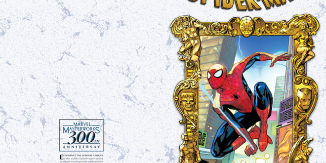 Marvel celebrates 300 Masterworks books with variant cover slate
