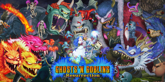Ghosts 'n Goblins Resurrection out now on Switch