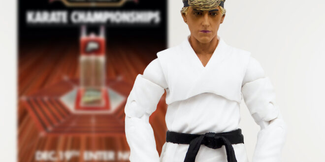 "Icon Heroes debuts exclusive ""Dojo"" Johnny Lawrence figure"